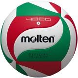 MOLTEN Bola Voli Size 4 [V4M4000] - White/Red/Green - Bola Voli